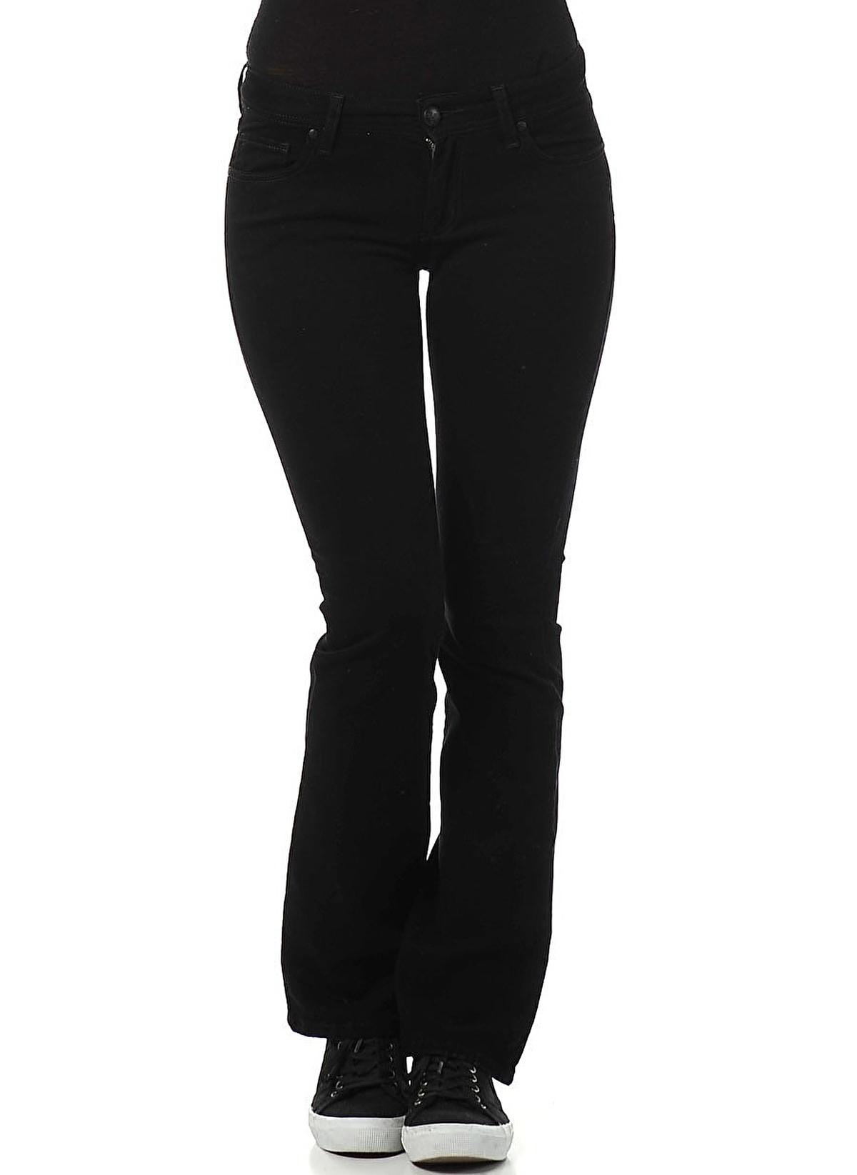 Colin S Kadin Jean Pantolon Velvet Black Wash Morhipo 5207460